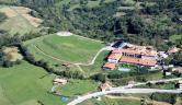 Vista aérea Hosteria de Torazo