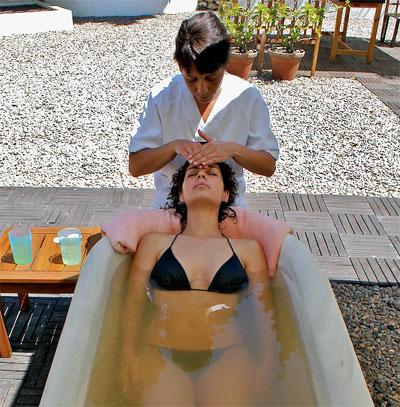 Baño de Burbujas con Masaje Sedante