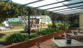 Vista de las piscinas desde la terraza Balneario de Alceda