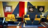 Detalle del salón social del hotel Hotel Torresport