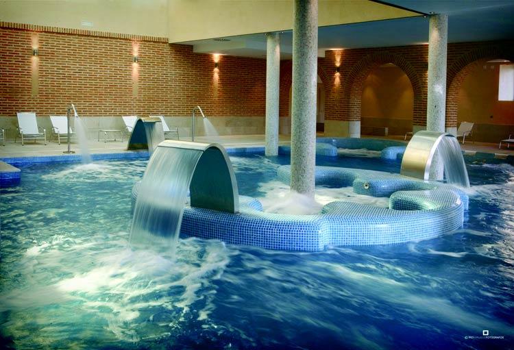 Aguas Termales del Hotel Balneario Villa de Olmedo