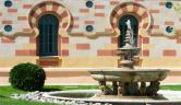 Fuente exterior Balneario Vichy Catalan