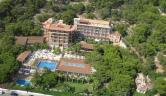 Vista aerea del complejo Thalasso Hotel El Palasiet
