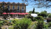 Terraza de verano de dia Hotel Villa de Laguardia