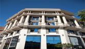 Detalle de la fachada Hotel Spa Bienestar Moaña