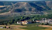 A vista de pájaro Castilla Termal Monasterio de Valbuena