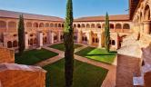 Claustro Castilla Termal Monasterio de Valbuena