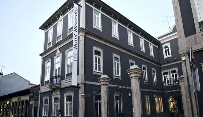 Fachada Hotel Bienestar Termas de Vizela