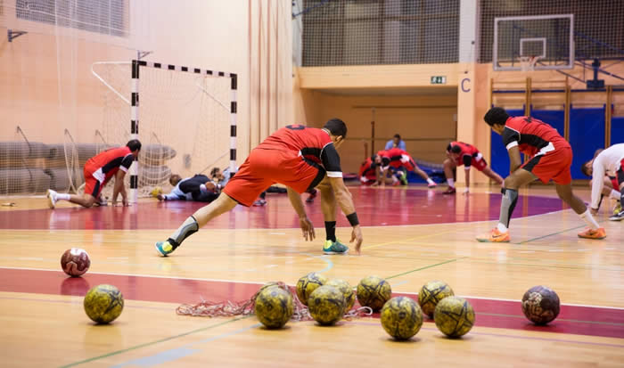 Campo de Deportes- Handball