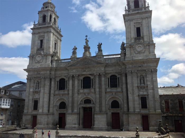 Catedral de Lugo - Vista diurna