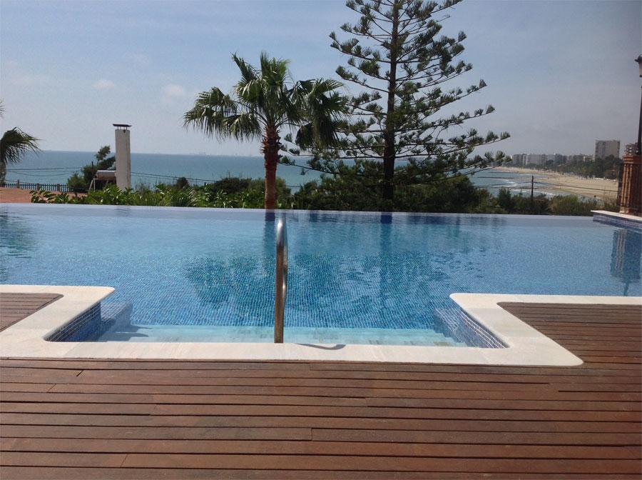 El palasiet un talaso de lujo en benicasim en el foro sobre balnearios diarios de viaje en - Piscina panoramica valdaora ...