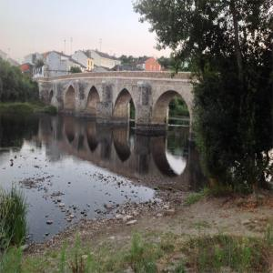 Puente romano  Balneario de Lugo