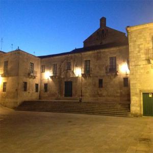 Plaza de la Catedral de Lugo  Balneario de Lugo