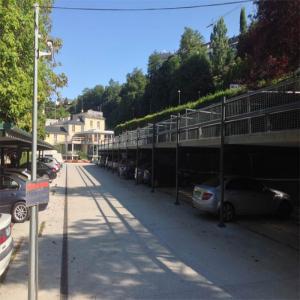 Zona de aparcamientos  Balneario de Lugo