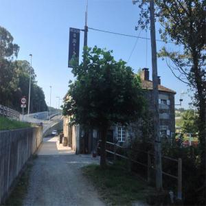 Meson Omuiño al lado del Balneario  Balneario de Lugo
