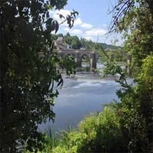 Naturaleza en el rio Miño  Balneario de Lugo