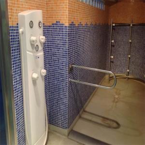 Detalle ducha circular  Balneario de Lugo