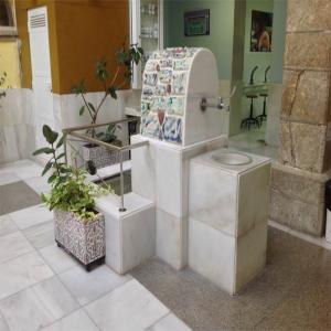 Fuente con agua mineromedicinal  Balneario de Lugo