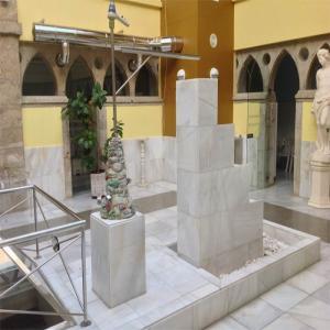 Fuente en la zona de tratamientos  Balneario de Lugo