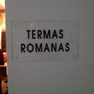 Termas romanas originales  Balneario de Lugo